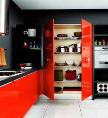 Red And Black Kitchen Ideas Black Red Kitchen Decoration Ideas Information About Home