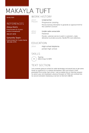 Underwriter Resume Samples   VisualCV Resume Samples Database