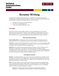 Cook Resume Sample Pdf Introduction How To Write Learning Objectives Writing A Resume