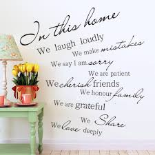 online get cheap wall sticker in this home we laugh loudly in this house we laugh loudly quotes wall stickers living room kids room bedroom home decor