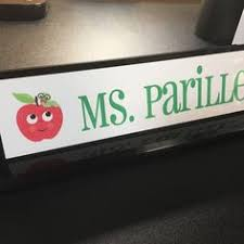 Custom Desk Name Plates by On Sale Sale Personalized Teacher Gift Acrylic By Thecraftgiraffe