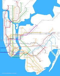 Map New York City by New York City Metro Map U2022 Mapsof Net
