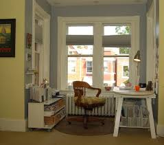 Bay Window Desk Pleasing Ikea Tv Stand Ideas Home Office Eclectic With White Desk