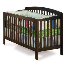 Shermag Capri Convertible Crib by Contemporary Cribs