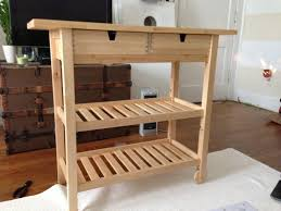 furniture modern white stained pine kitchen island which beautify