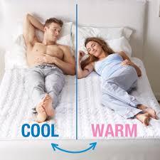 chilipad cooling heated mattress pad brookstone
