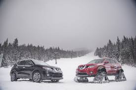 nissan rogue us news nissan rogue warrior concept trades tires for tracks