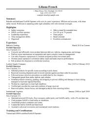 leadership examples for resume 18 amazing production resume examples livecareer forklift operator resume example