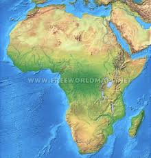 Map Of Kenya Africa by Africa Physical Map U2013 Freeworldmaps Net