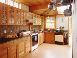 Kitchen Tile Flooring Ideas Tile Floors With Dark Cabinets An Excellent Home Design