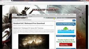 Home Design Pc Game Download How To Download Resident Evil 7 Biohazard Free Latest Pc Game