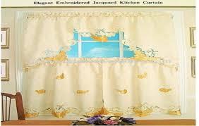 Elegant Kitchen Curtains by Elegant Kitchen Curtains Modern Kitchen Curtains Sunflower