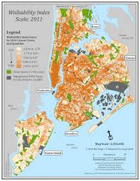 Zip Code Map Brooklyn by Neighborhood Walkability Built Environment And Health Research Group