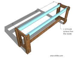 diy farmhouse benches hgtv