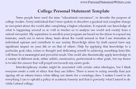 images about Personal Statement Sample on Pinterest