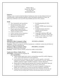 Chronological Resume Outline LearnHowToLoseWeight net