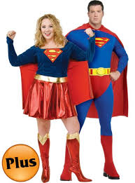 Supergirl Halloween Costume Size Superman Size Supergirl Couples Costumes