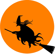 amazon com halloween witch wall sticker decal removable