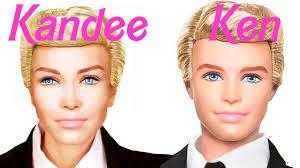 Halloween Barbie Makeup by Ken Barbie Doll Makeup Transformation Youtube