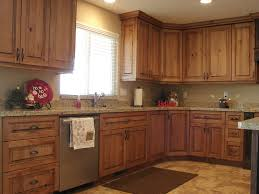Hickory Kitchen Cabinet Doors Kitchen Hickory Kitchen Cabinets With Dark Countertop Rustic