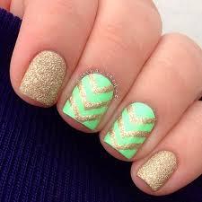 66 nail art ideas for short nails gold nail short nails and