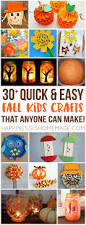 halloween arts and crafts ideas best 20 easy fall crafts ideas on pinterest fall decorations