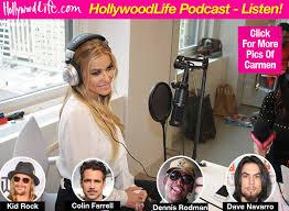 Carmen Electra Talks Dating Colin Farrell  Kid Rock  amp  Divorcing Dave Navarro Hollywood Life