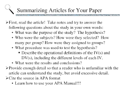 APA style research paper describes a research paper which has  Example Resume And Cover Letter   ipnodns ru