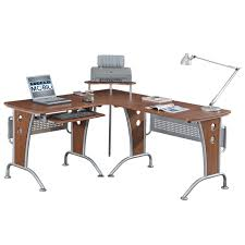 amazon com space saver computer l desk kitchen u0026 dining