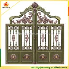 alibaba china simple aluminum pipe gate design gate grill fence