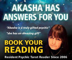 Book your reading with Akasha  Paranormal psychic chat rooms