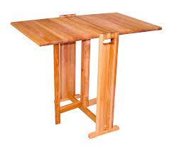 amazon com catskill craftsmen fold a way butcher block table
