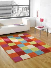 Coloured Rug Cool Rugs For Teenagers Rainbow Coloured Home Interior Decor Ideas