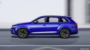 Audi Q7 Colors 2017 - 2017 audi sq7 tdi color sepang blue side hd wallpaper 6