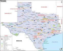 Time Zone Map Usa With Cities by Texas Map Map Of Texas Tx Usa