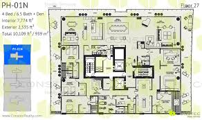 Penthouse Floor Plans Oceana Bal Harbour Floor Plans