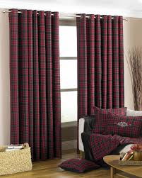 Living Room Curtain Looks Val D U0027isere Eyelet Curtains Cranberry Free Uk Delivery Terrys