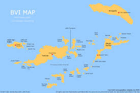 Thousand Islands Map Bvi Map Free Map Of The Bvi