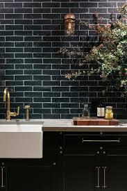 117 best black is back images on pinterest black black kitchens