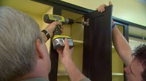 Replace Kitchen Cabinet Doors How To Install Kitchen Cabinet Doors Today U0027s Homeowner
