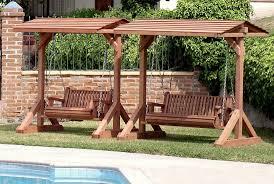 garden swing bench garden swing bench plans youtube
