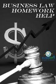 To get Personalized help with your Business Law homework  visit http   classof
