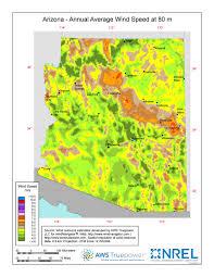 Map Az Windexchange Wind Energy In Arizona