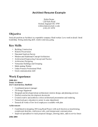 objective in resume examples architecture resume objective jianbochen com architect resumes architecture resume objective resume innovations
