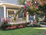 Garden: Spectacular Large Landscaping Front Yard With Pink Flowers ...