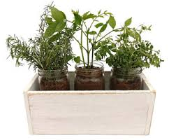 Shabby Chic Planters by Reclaimed Wood Planter Box Dark Wood Indoor Herb Planter