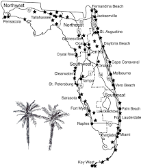 Map Of Clearwater Florida Map Of Northwestern Florida You Can See A Map Of Many Places On