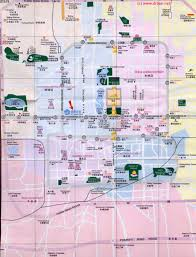 China City Map by Beijing City Map 1 B Zoom City Centre In General By China Report