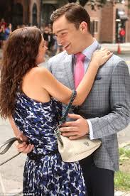 Gossip Girl     s Ed Westwick congratulates Leighton Meester on her