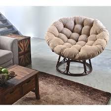 Papasan Chair In Living Room International Caravan Papasan Chair With Solid Micro Suede Cushion